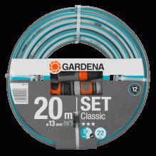 GARDENA – TUBO CLASSICO DA 20M CON ACCESSORI