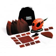 Black+Decker Levigatrice Mouse 55W Con Extra Accessori